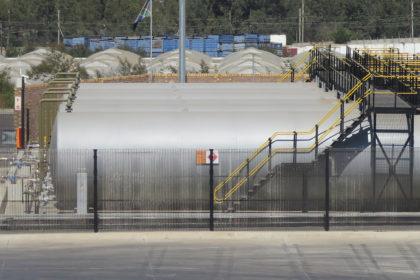 Aboveground Steel Tank installation