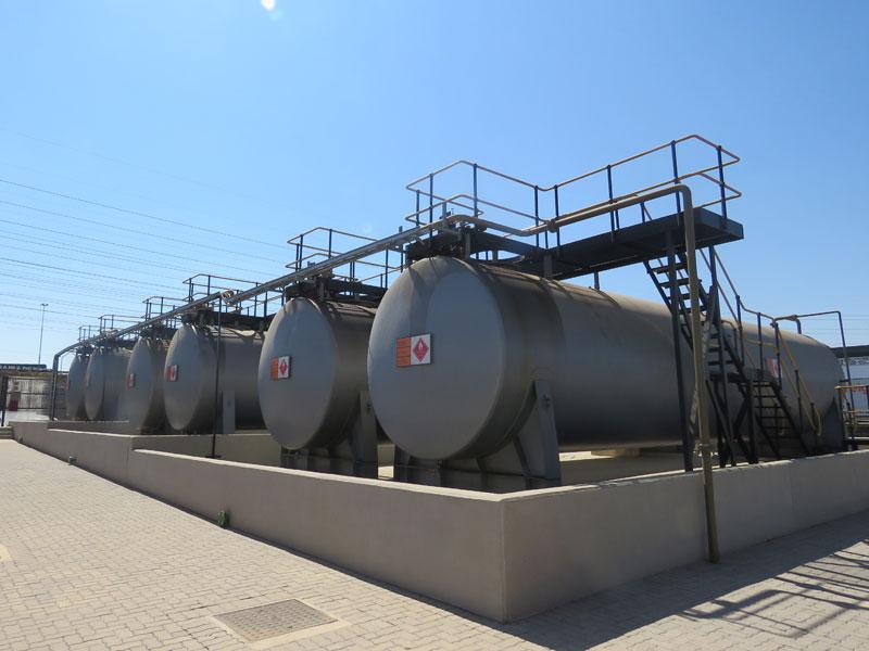 Citydeep Aboveground Steel Tank installation