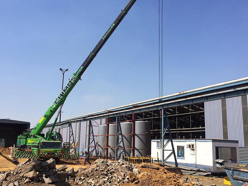 Vertical Steel Tanks installation
