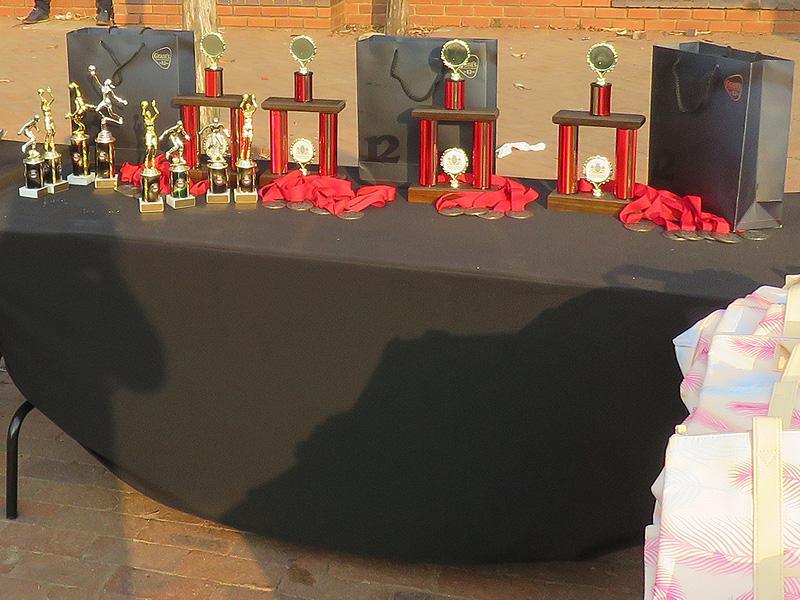 Tseba Sports Day - Prize Giving