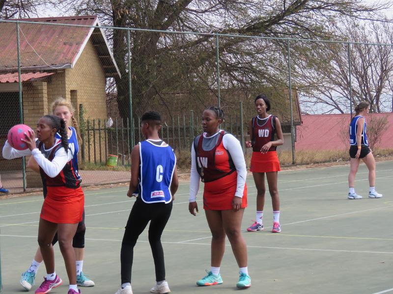 Tseba Sports Day - Netball